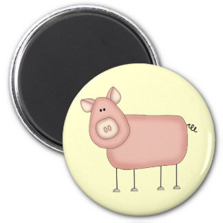 Pink Pig T-shirts and Gifts Refrigerator Magnet