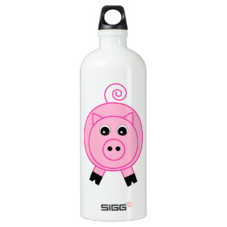 Pink Pig Water Bottle