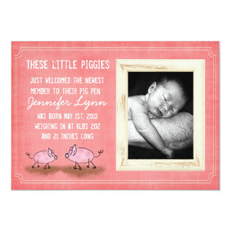 Pink Piggies Announcement