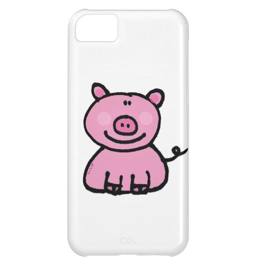 pink piggy iPhone 5C case