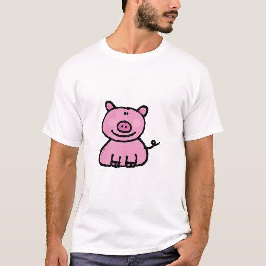 Pink piggy T-Shirt