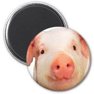 """""""Pink piglet design"""" products Magnet"""