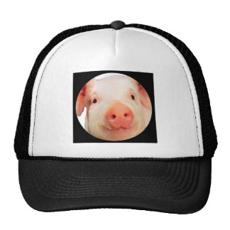 """Pink Piglet"" Hats"