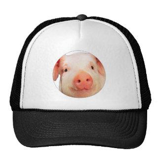 """""""Pink piglet"""" Mesh Hats"""