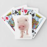 Pink Piglet Pig Playing Cards