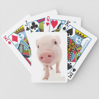 Pink Piglet Pig Playing Cards
