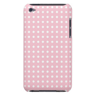 Pink pin polka dots dot girly cute pattern print barely there iPod covers