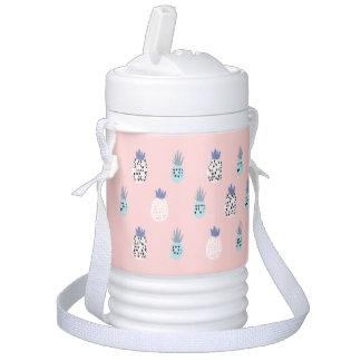 Pink Pineapples Beverage Cooler