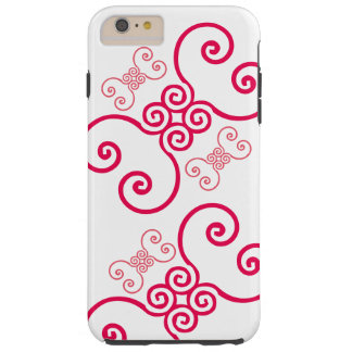 Pink Pipes Tough iPhone 6 Plus Case