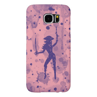 Pink Pirate Samsung Galaxy S6, Barely There Case Samsung Galaxy S6 Cases
