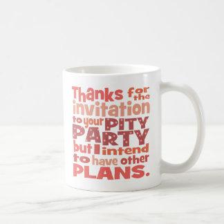 Pink Pity Party Mug