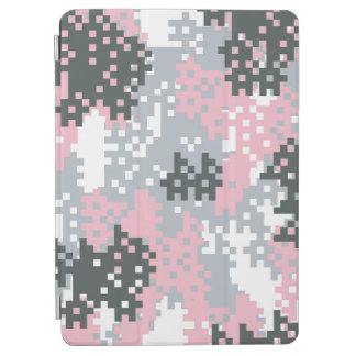 Pink Pixel Camouflage iPad Air Cover