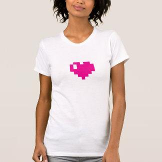 Pink Pixel Heart tee