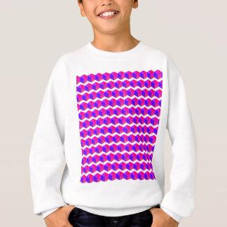 Pink Pixels Pattern Sweatshirt