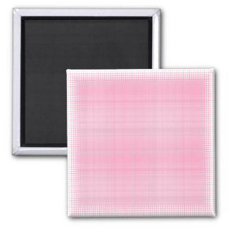 Pink Plaid Magnet