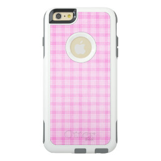 Pink Plaid OtterBox Commuter iPhone 6/6s Plus Case