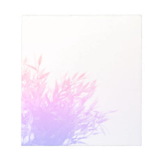 Pink Plant Nature Growing Gardening Notepad