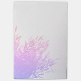 Pink Plant Nature Growing Gardening Post-it Notes