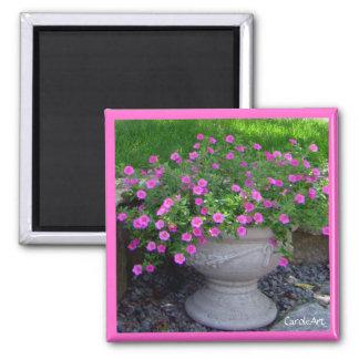 Pink Planter Magnet