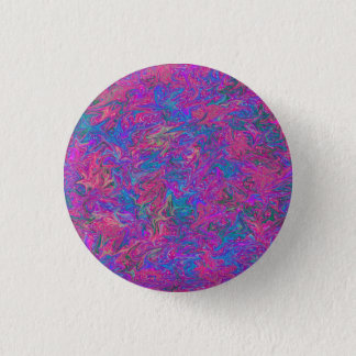 Pink Plastic Grid Abstract 3 Cm Round Badge
