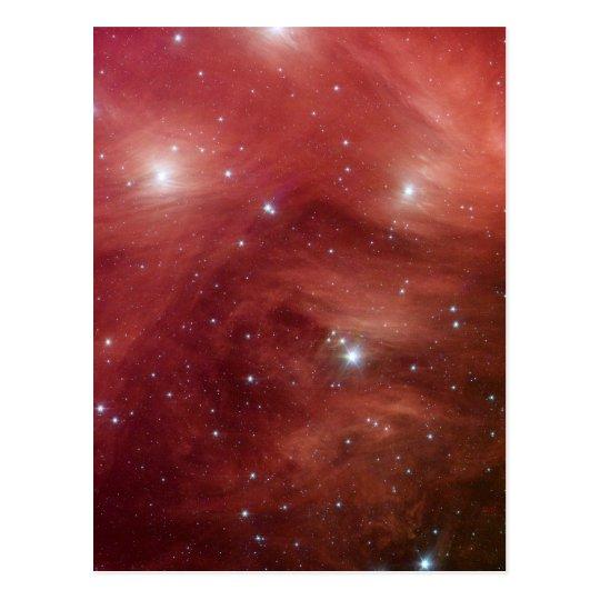 Pink Pleiades Infrared SSC2007 07b Postcard