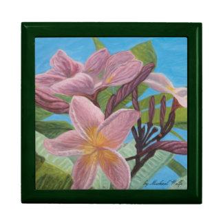 Pink Plumeria Gift Box