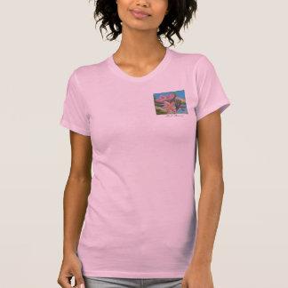 Pink Plumeria T-shirt