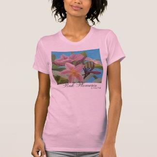 Pink Plumeria Tshirts
