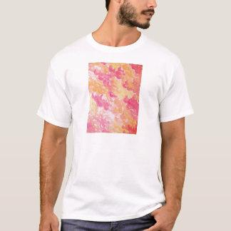 PINK PLUMES - Soft Pastel Wispy Pretty Peach Melon T-Shirt