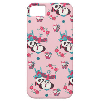 Pink Po and Mei Mei Pattern Barely There iPhone 5 Case