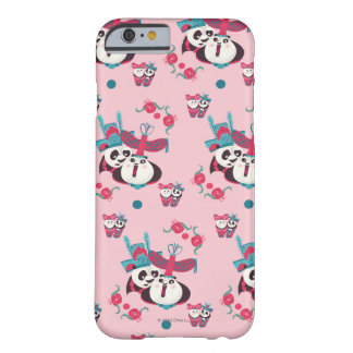 Pink Po and Mei Mei Pattern Barely There iPhone 6 Case