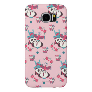 Pink Po and Mei Mei Pattern Samsung Galaxy S6 Cases