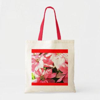 Pink Poinsetta Bag