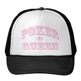 Pink Poker Queen Cap