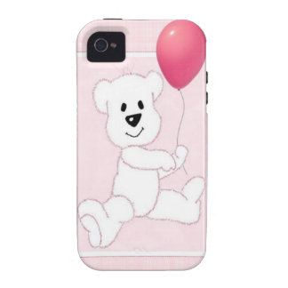 Pink Polar Bear Cub iPhone 4 4S Vibe Case iPhone 4/4S Covers