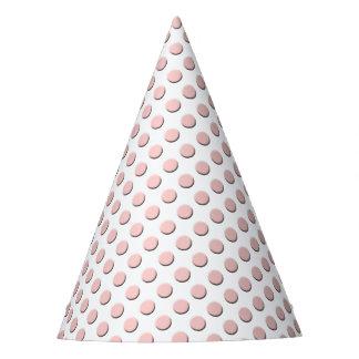 Pink Polka Dot Design Party Hat