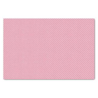 "Pink Polka Dot Pattern 10"" X 15"" Tissue Paper"