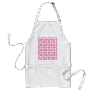 Pink Polka Dots Adult Apron
