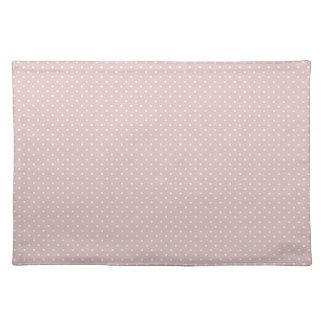 Pink Polka Dots Placemat