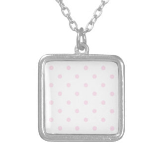 Pink Polka Dots Necklace