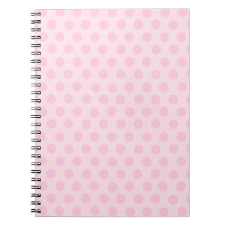 Pink Polka Dots Notebook