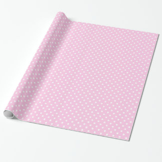 Pink Polka Dots Party Wrapping Paper