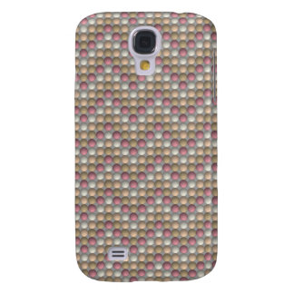 Pink Polka Dots Zig Zag Pattern Samsung Galaxy S4 Covers