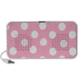 Pink Polkadot Speakers