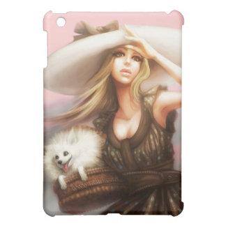 Pink Pomeranian iPad case