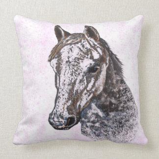 Pink pony cushion