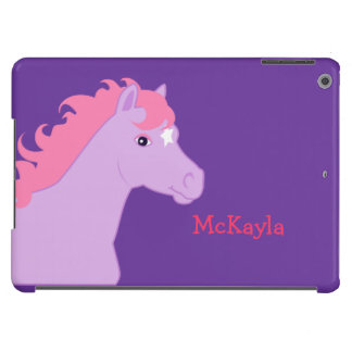 Pink Pony Personalized iPod Case Cover For iPad Air