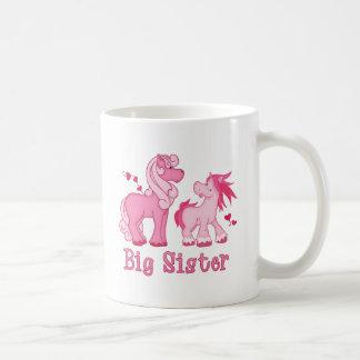 Pink Ponys Big Sister Mug