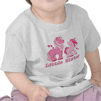Pink Ponys Little Sister T-shirts