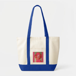 Pink Poodle Impulse Tote Bag
